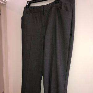 Worthington Women's Gray Suit Pants